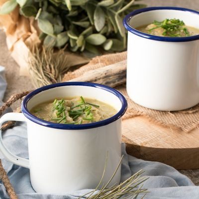 Potato Leek Soup with Chives
